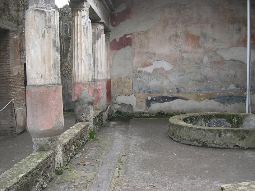 Casa della caccia antica for Planimetrie della casa antica